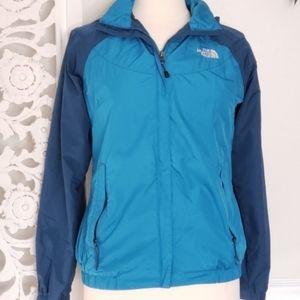 The North Face Windbreaker Rain Jacket S Blue